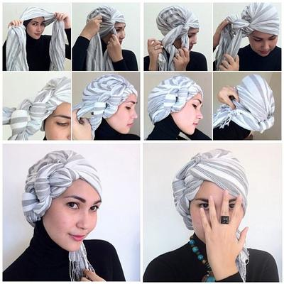 Try the Easy Turban Style!
