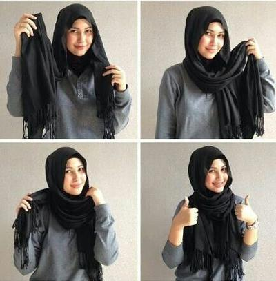 A Very Simple Hijab Style