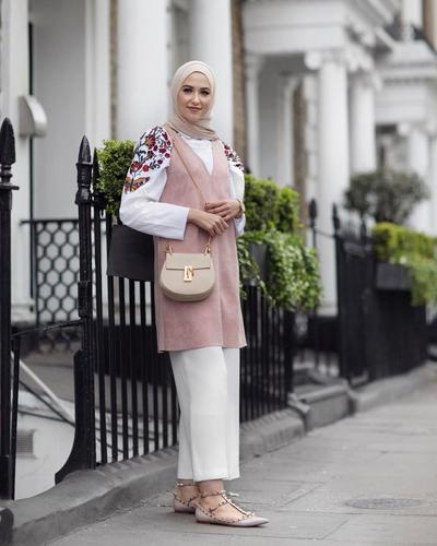 Embroidery Top and Vest