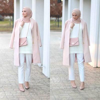 Gaya Hijab Feminin