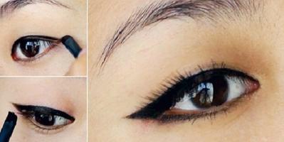 Eyeliner untuk Mata Sayu