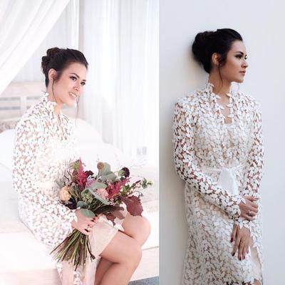 Cantik Meski dengan Riasan Simpel, Ini Dia MUA yang Berperan Penting dalam Pernikahan Raisa
