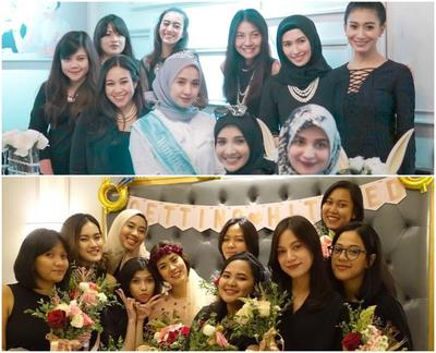 Raisa Andriana Atau Laudya Cynthia Bella, Mana Bridal Shower Favoritemu?