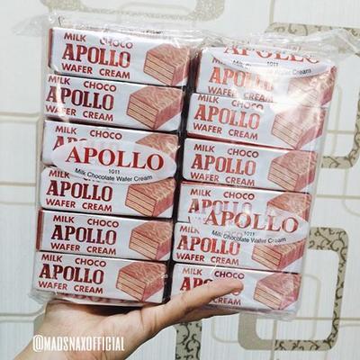 Apollo Milk Choco Wafer Cream