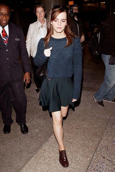 Emma Watson: Oxford Shoes