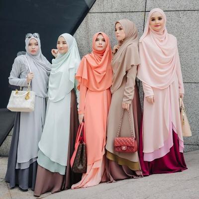 Tanpa Terlihat Kuno, Ini Dia Inspirasi Style Hijab Syar'i Kekinian yang Bisa Kamu Contek!