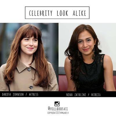 Percaya Tak Percaya, 5 Artis Indonesia Ini Punya Wajah Kembaran dengan Artis Hollywood!
