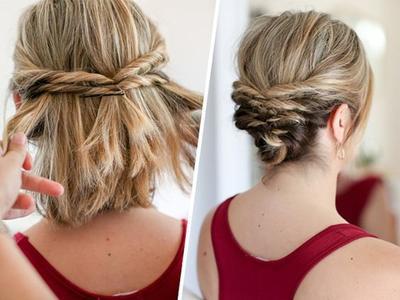 Psst Ini Tutorial Hairdo Simple Wisuda Khusus Untuk Kamu Si - Tutorial hairstyle untuk rambut tipis