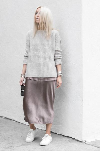 Maxi Span Skirt