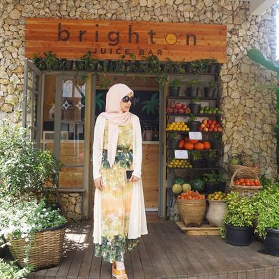 4. Flower Print Dress
