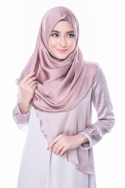 3. Satin Hijab