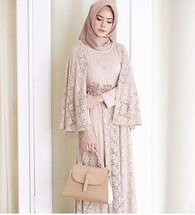 Inspirasi Model Kebaya Cape Hijab
