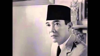 Soekarno- Presiden Pertama Indonesia