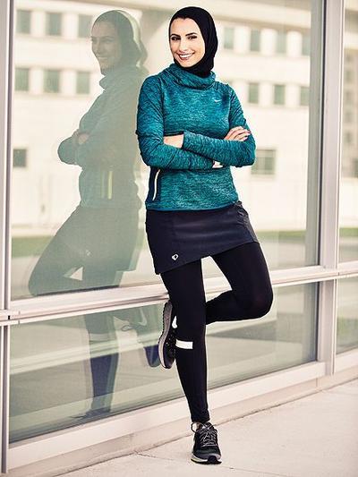 Inspirasi Padu Padan Rok Pendek Hijab