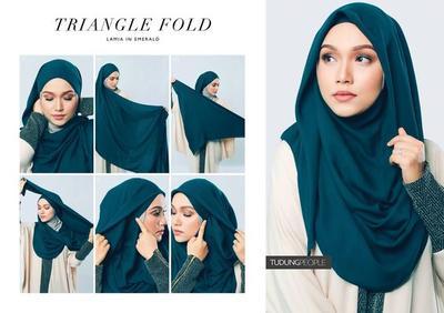 Tutorial Hijab Simpel untuk Wisuda