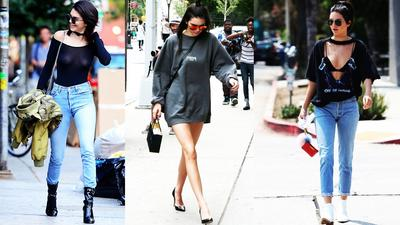 Meskipun Tampil dengan Baju Biasa, Ini Gaya Kasual Kendall Jenner Sehari-hari yang Fashionable!