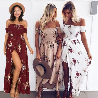 4. Boho Style with Floral