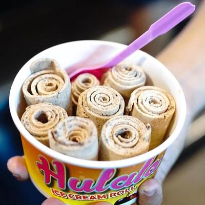 Hulala Ice Cream Roll