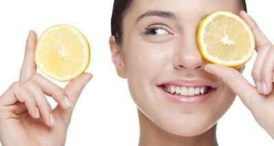 Kompres dengan Mentimun dan Lemon