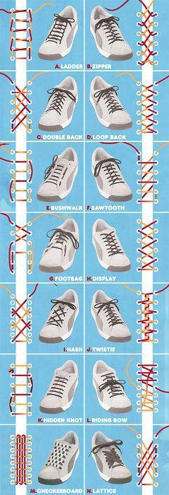 Inspirasi Teknik Mengikat Tali Sepatu