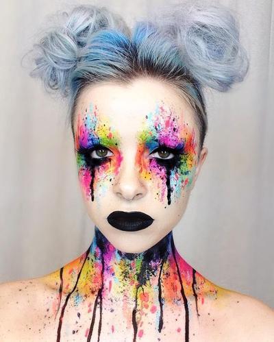 Tak Harus Selalu Menakutkan, Daftar Tutorial Make Up Halloween Ini Malah Bikin Salah Fokus