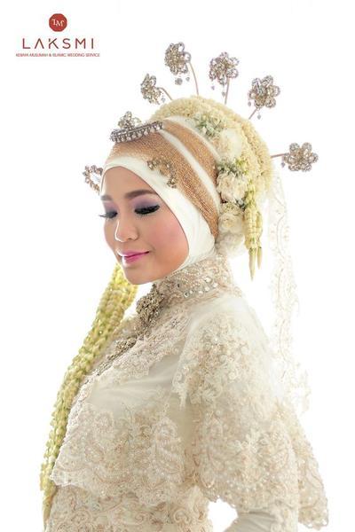 Kreasi Hijab Pengantin Adat Jawa