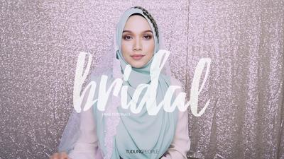 Ingin Tampil dengan Hijab Syar'i Kekinian untuk Pernikahan? Tutorial Ini Bisa Kamu Coba Sendiri!