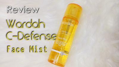 Ladies, Pernah Nyobain Wardah C-Defense Face Mist? Bisa Mencerahkan Kulit?