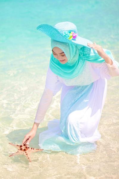Hat Beach Rajut
