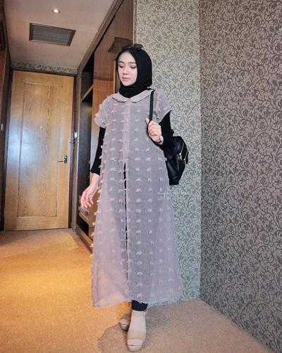 Ruby Long Outer ala Ayu Indriati