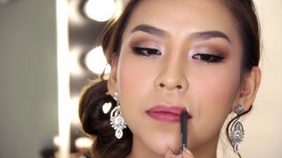Lip Liner dan Lipstick