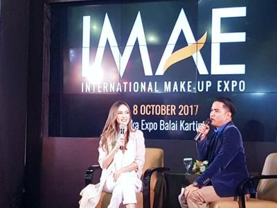 Kemeriahan IMAE International Makeup Expo 2017 Bersama Cathy Sharon, Princess Syahrini, & Krisdayanti!