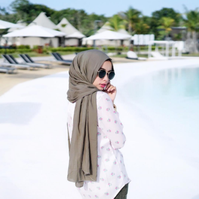 3. Simple Pashmina