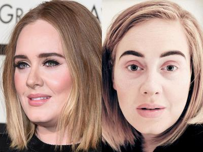 Terlihat Wow di Layar Kaca, Ternyata Begini Wajah Artis Hollywood Kalau Tak Pakai Make Up
