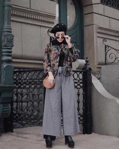Inspirasi Fashion Hijab Kekinian Untuk Tubuh Tinggi