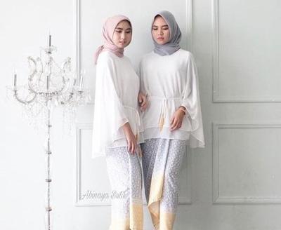Hijabers, Begini Cara Padu Padan Rok Lilit dengan Blouse yang Hits Banget untuk Kondangan