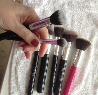 Tahap 5- Keringkan Brush