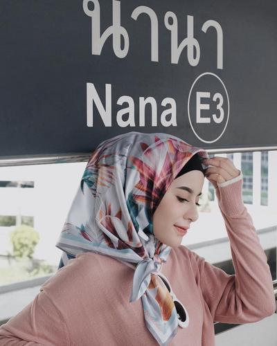 Inspirasi dan Tutorial Hijab Ciput Rajut