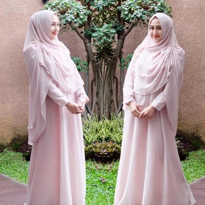 Inspirasi Hijab Syar'i Untuk Pesta