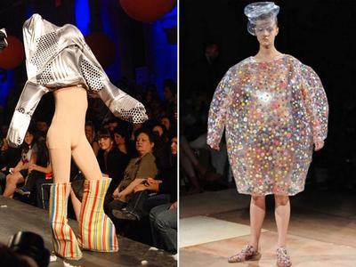 Bukan Gaun Elegan, Fashion Show dengan Baju Paling Aneh Ini Tak Akan Terbayang di Pikiran Kamu!