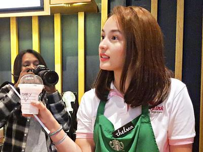 Pengakuan Chelsea Islan Tentang Kanker Payudara di Starbucks Bersama Lovepink #PINKVOICE