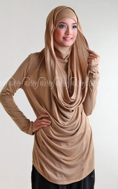 The Casual and Sporty Hijab Hoodie