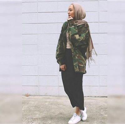 The Simple and Minimalist Hijab