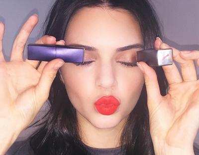 Kendall Jenner - Eyes & Lips