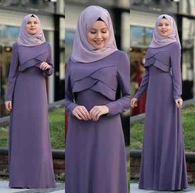 Lebih Ramping, Ini Cara Memilih Maxi Dress Hijab untuk Wanita Bertubuh Gemuk!