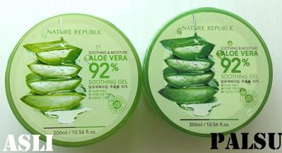 Waspada Ladies! Begini Cara Bedakan Nature Republic Shooting Gel Aloe Vera Asli dan Palsu