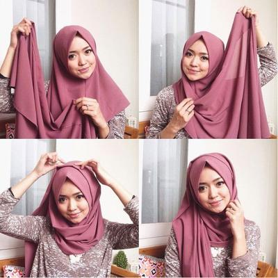 Enggak Biasa, Ini 4 Tutorial Hijab Pasmina Simple dan Elegan untuk Wisuda!