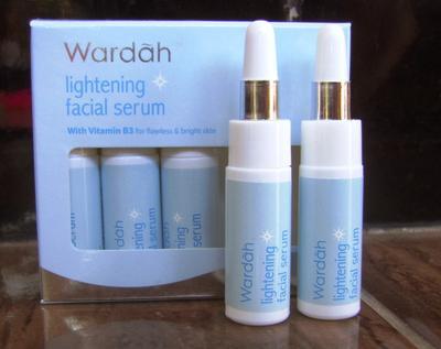 Super Hemat! Wardah Lightening Facial Serum Beneran Bisa Bikin Wajah Putih dan Cerah??