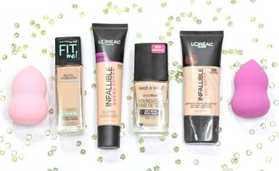 Gunakan Matte dan Full Coverage Foundation
