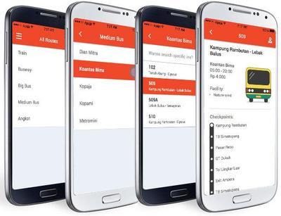 Biar Tak Salah Naik Angkutan dan Bisa Cek Jadwal, Kamu Wajib Punya Aplikasi Smartphone Ini!